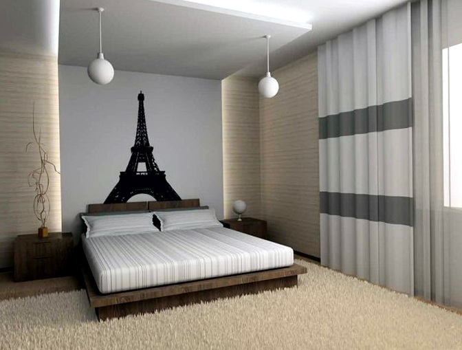 Paris Themed Bedrooms For Adults