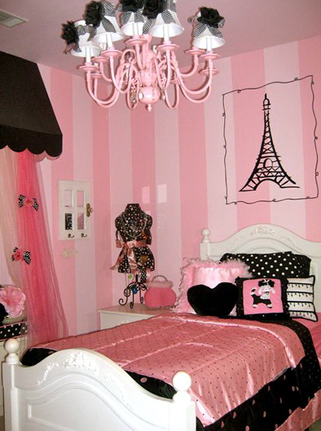 Paris Themed Bedrooms For Tweens