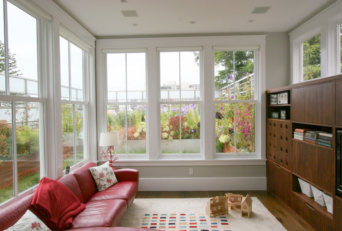 Pictures Of Living Room Window Treatments