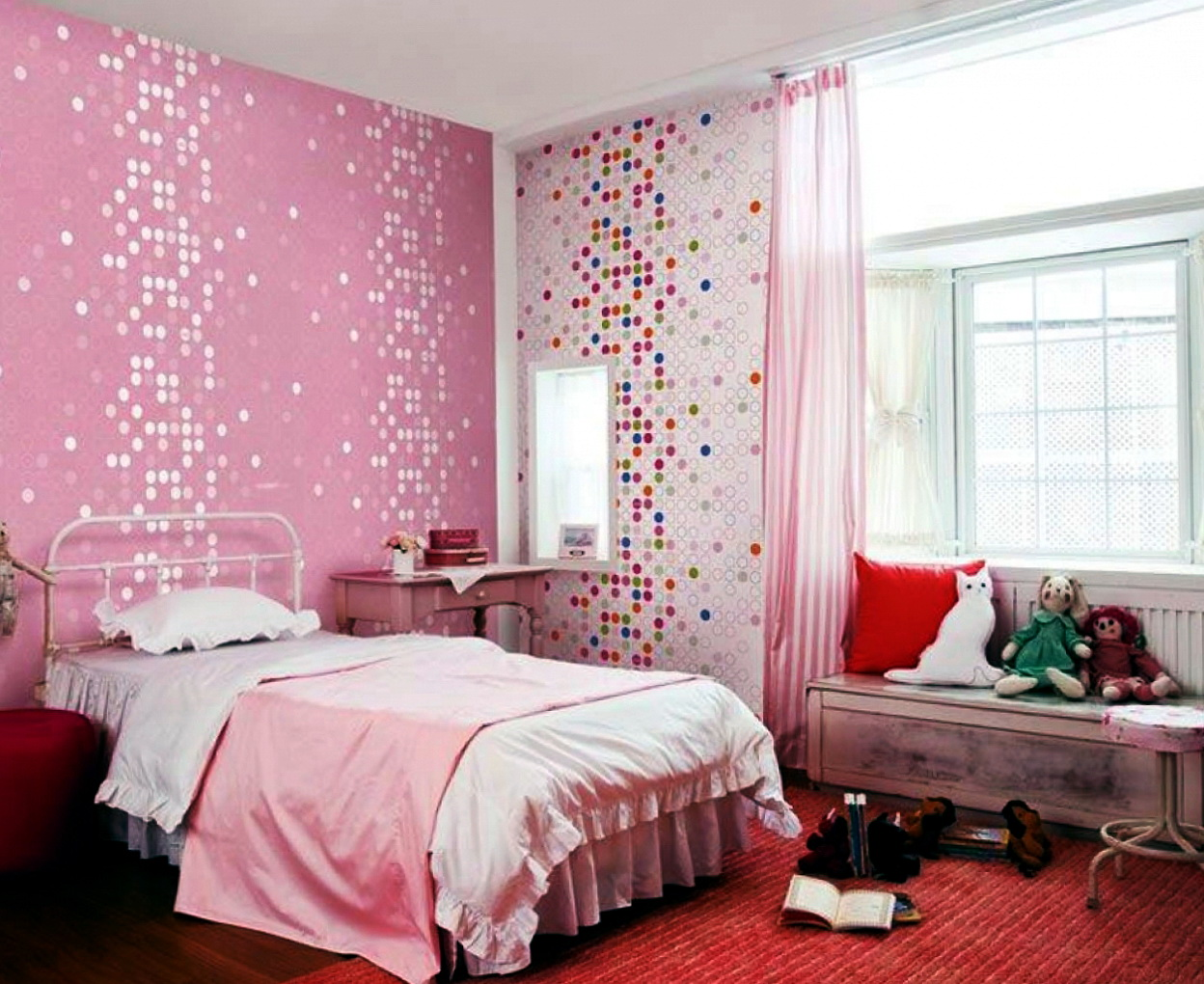 Pink Bedroom Ideas For Little Girl