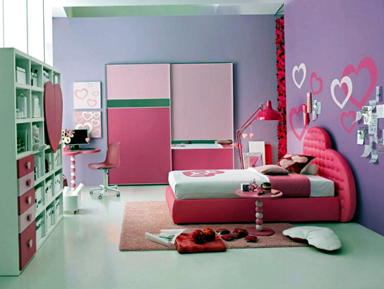 Pink Bedroom Ideas For Teenage Girls