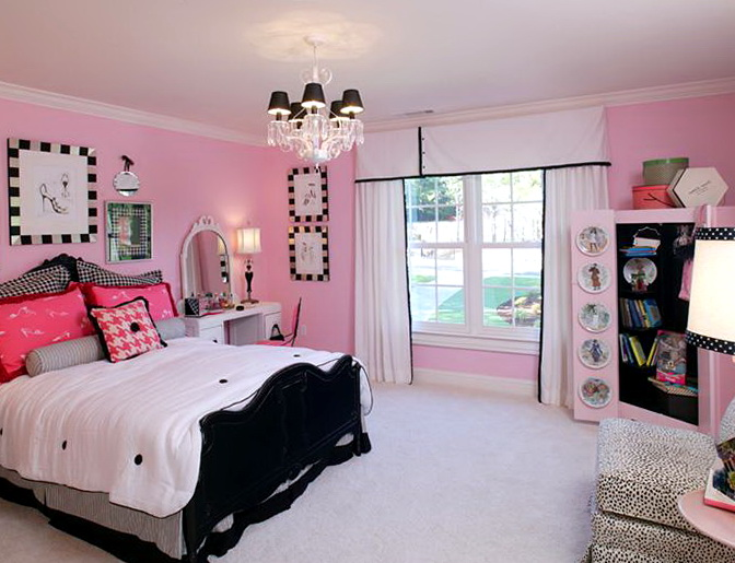 Pink Bedroom Ideas For Teenagers