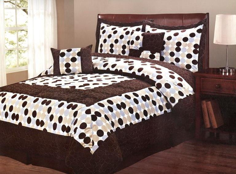 Polka Dot Bedding Queen Size