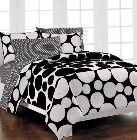 Polka Dot Bedding Twin