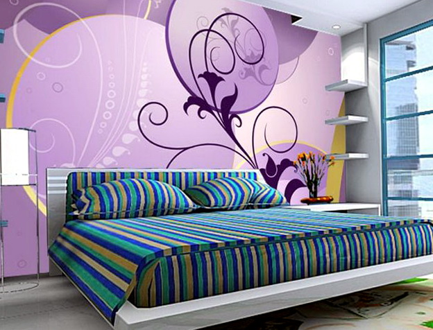 Purple And Teal Bedroom Ideas