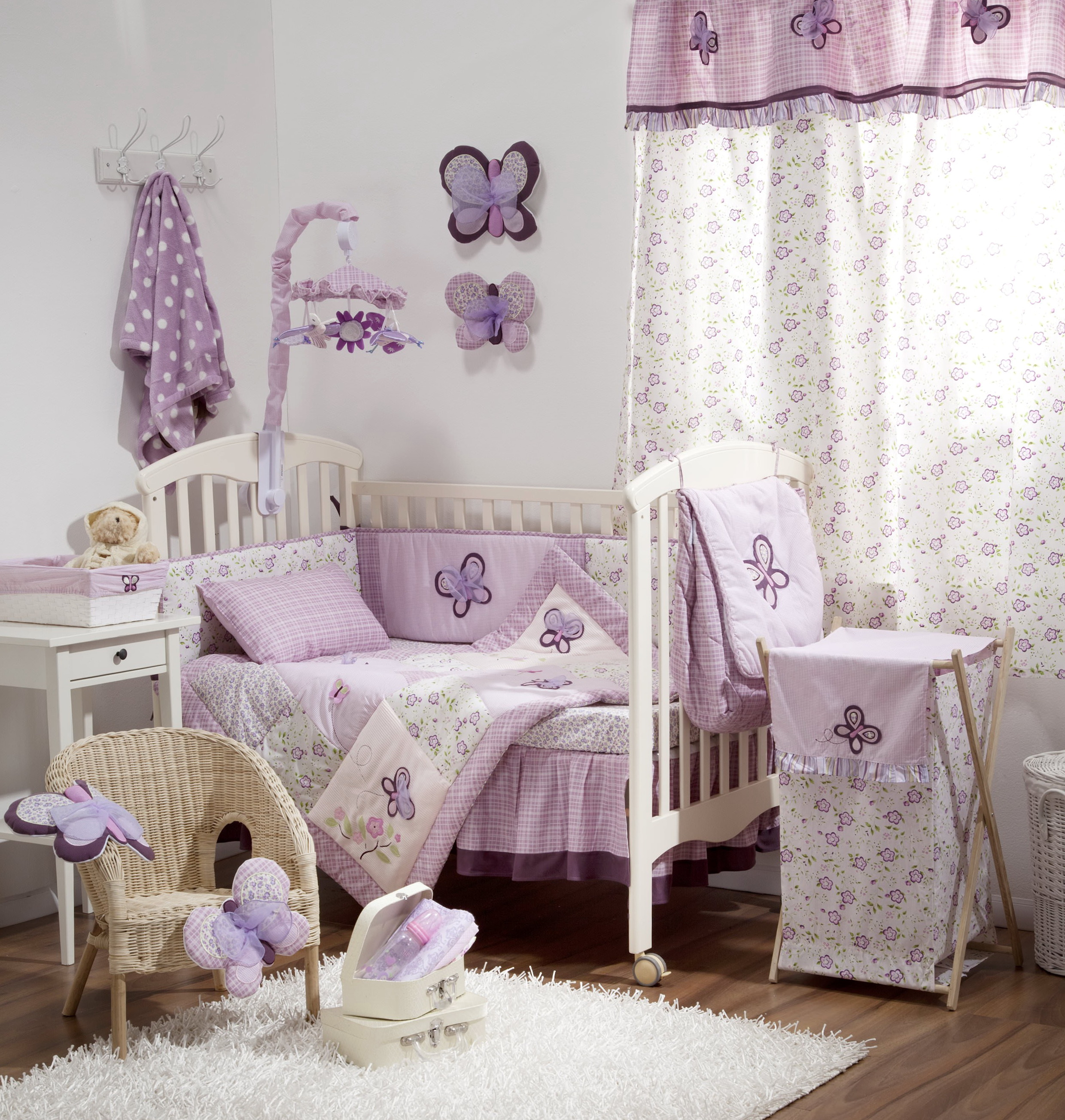 Purple Crib Bedding Sets