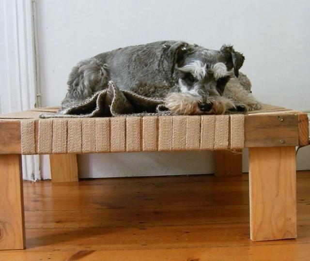 Raised Dog Bed Diy