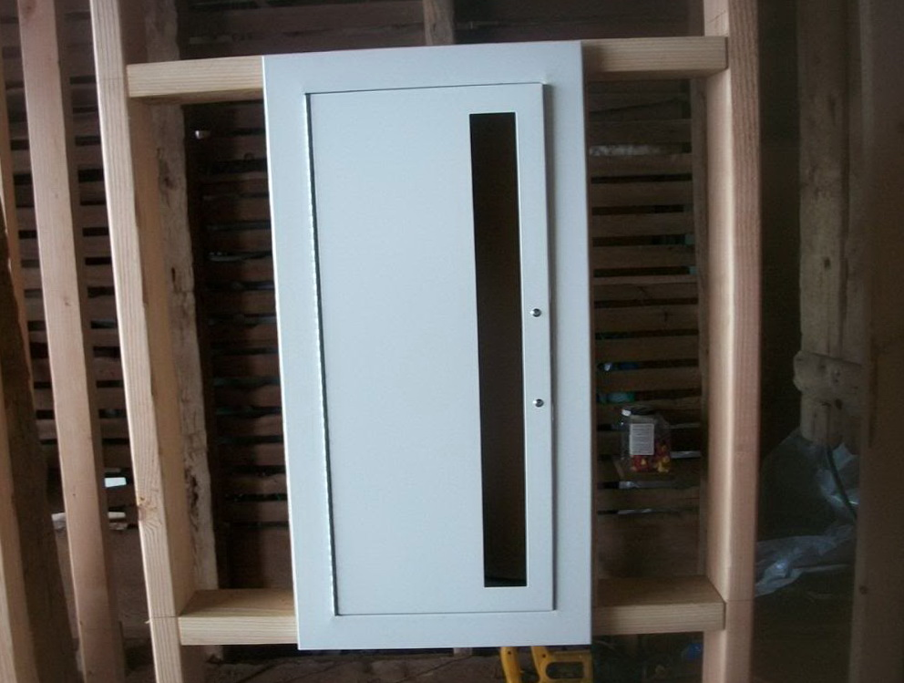 Recessed Fire Extinguisher Cabinets