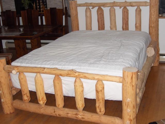 Reclaimed Wood Bed Queen