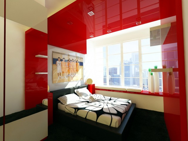 Red Bedroom Ideas For Adults