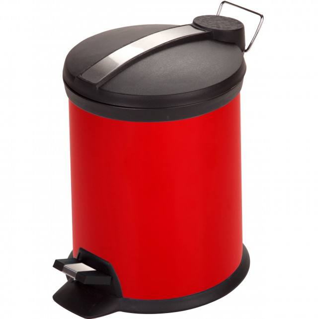 Red Kitchen Garbage Cans