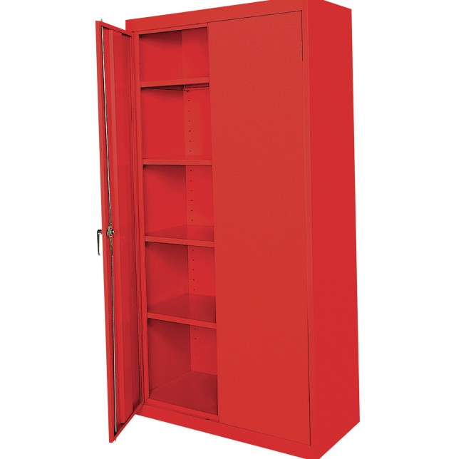 Metal Storage Cabinets With Doors Used Cabinet 40352