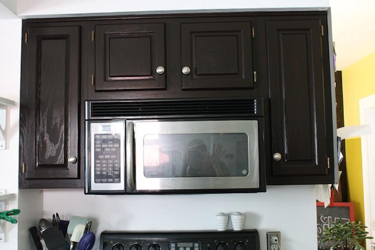Refinish Kitchen Cabinets Black