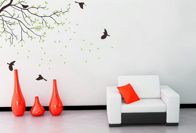 Removable Wall Decals For Living Room