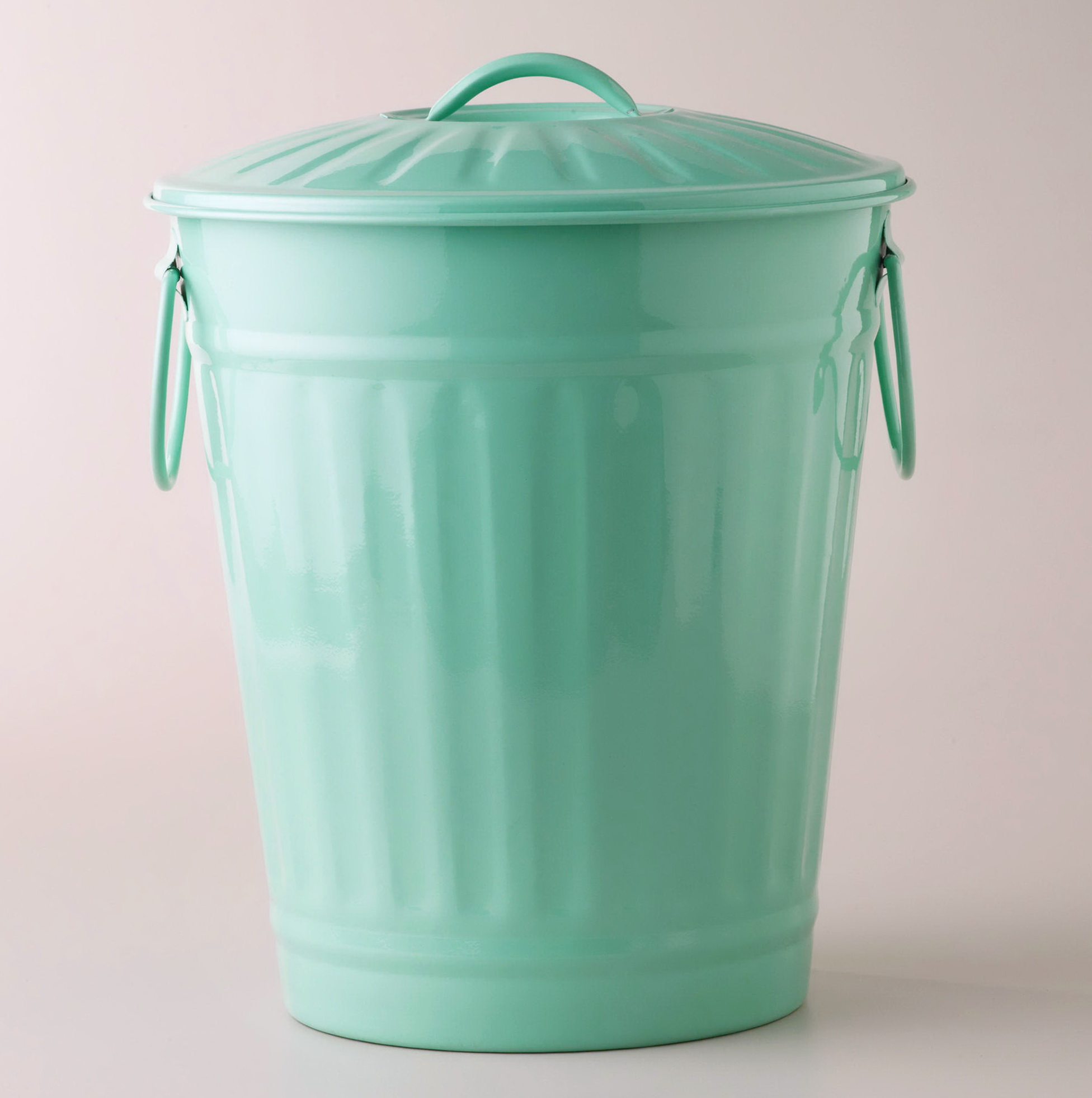 Retro Kitchen Trash Cans