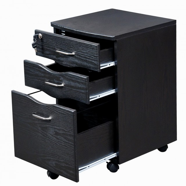 Rolling File Cabinet With Cushion