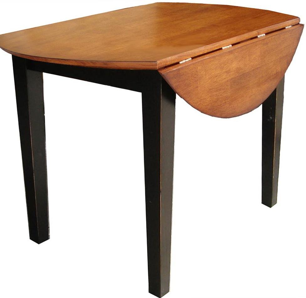 Round Drop Leaf Kitchen Table