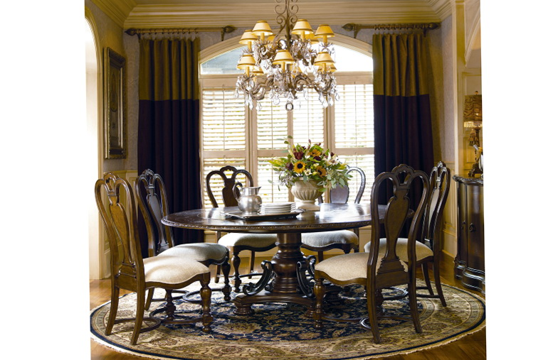 Round Kitchen Table Sets For 8