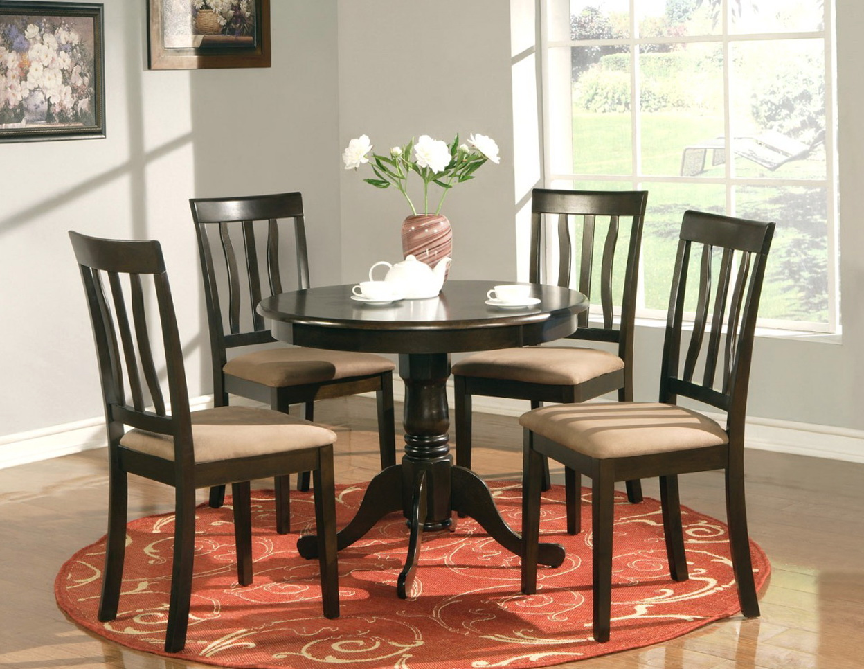 Round Kitchen Tables And Chairs