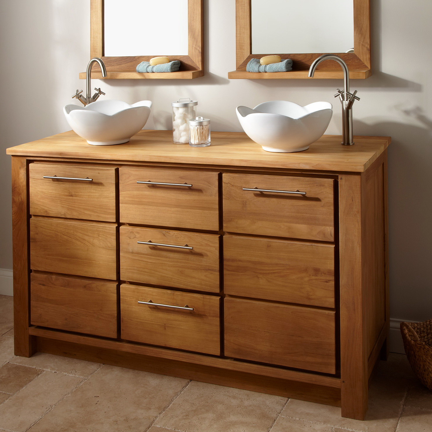Rustic Bathroom Vanities Cabinets