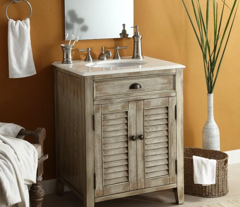 Rustic Bathroom Vanities Canada