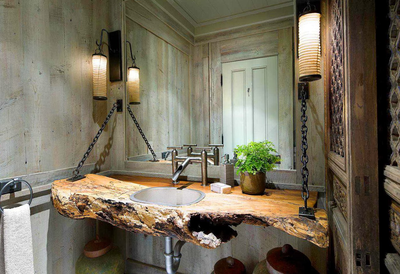 Rustic Bathroom Vanities Ideas