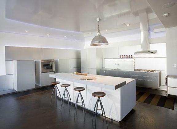 Rustic Kitchen Lighting Design