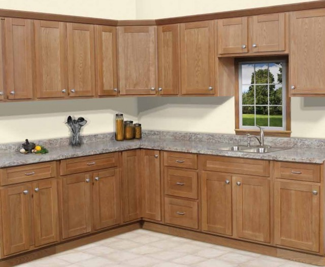 Shaker Style Cabinets With Beadboard