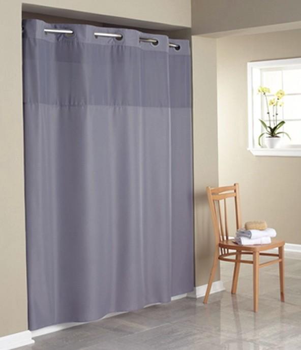 Sheer Bathroom Window Curtains