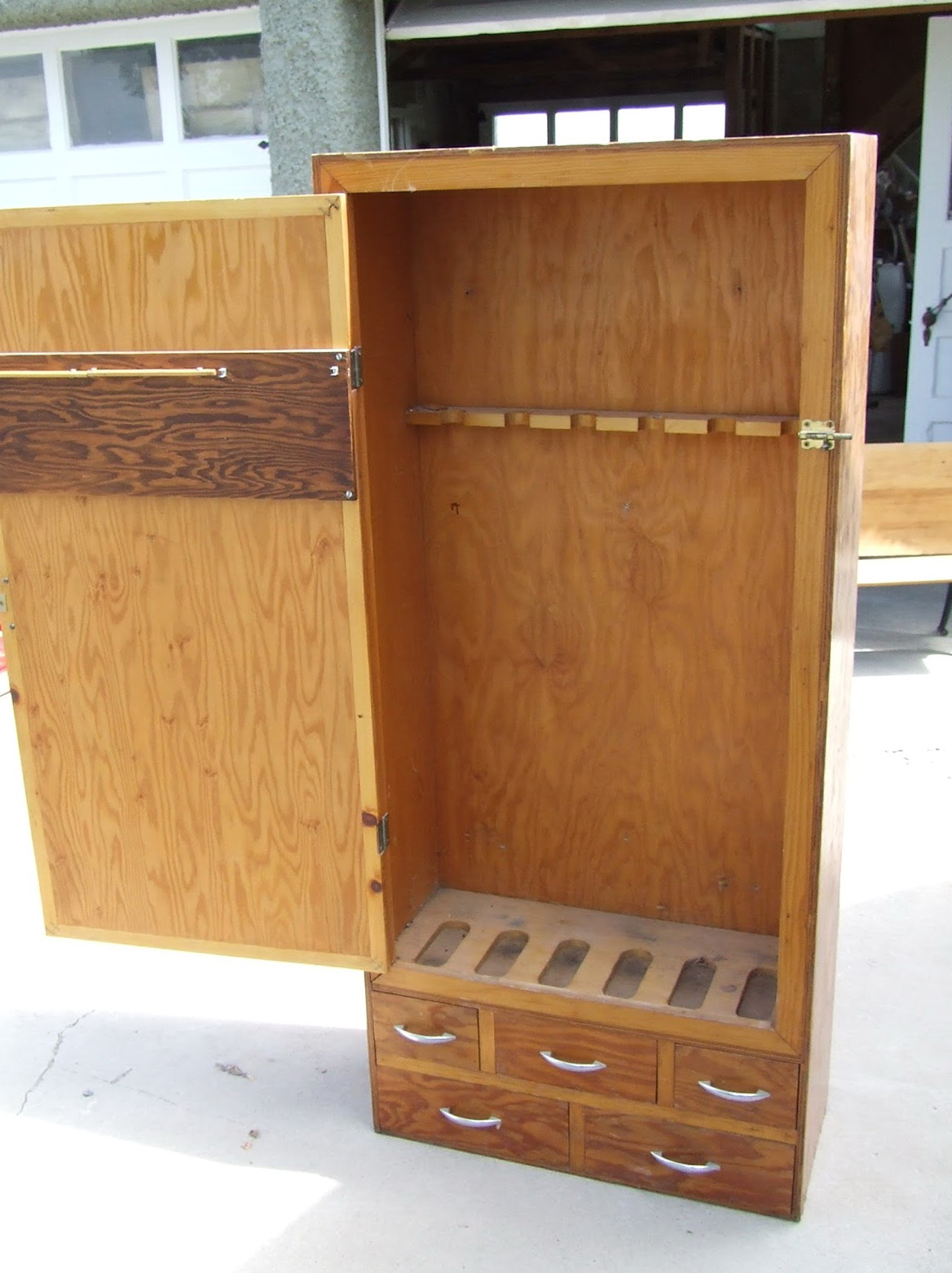 Simple Gun Cabinet Plans
