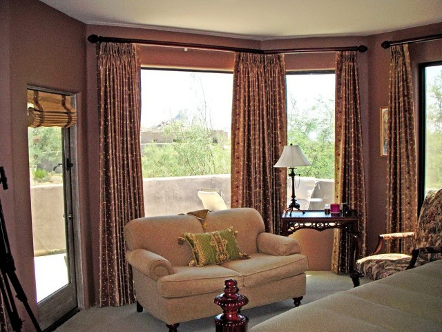 Simple Living Room Window Treatments