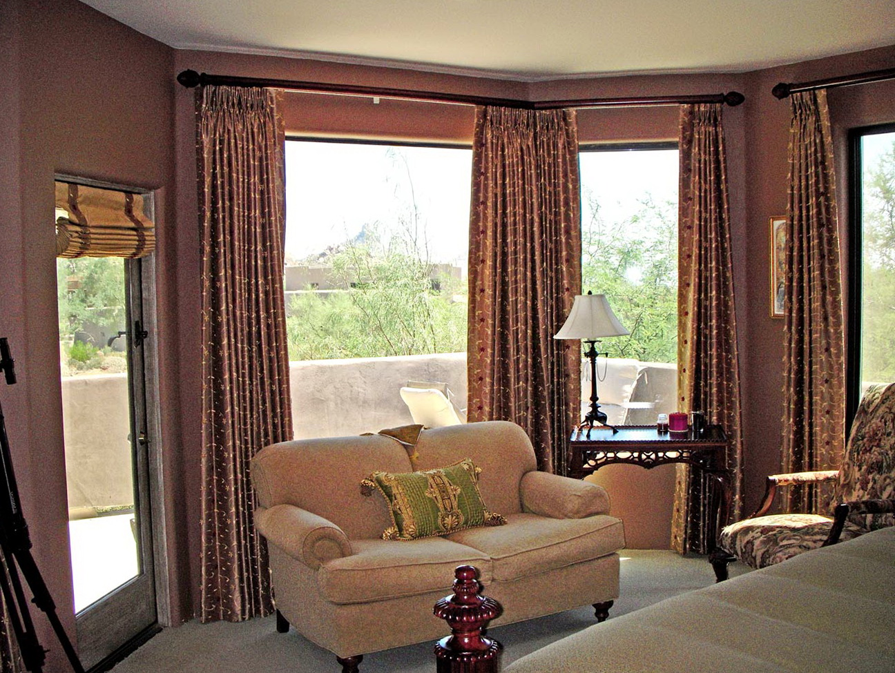 Simple Living Room Window Treatments