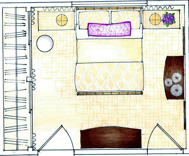 Simple Master Bedroom Floor Plans