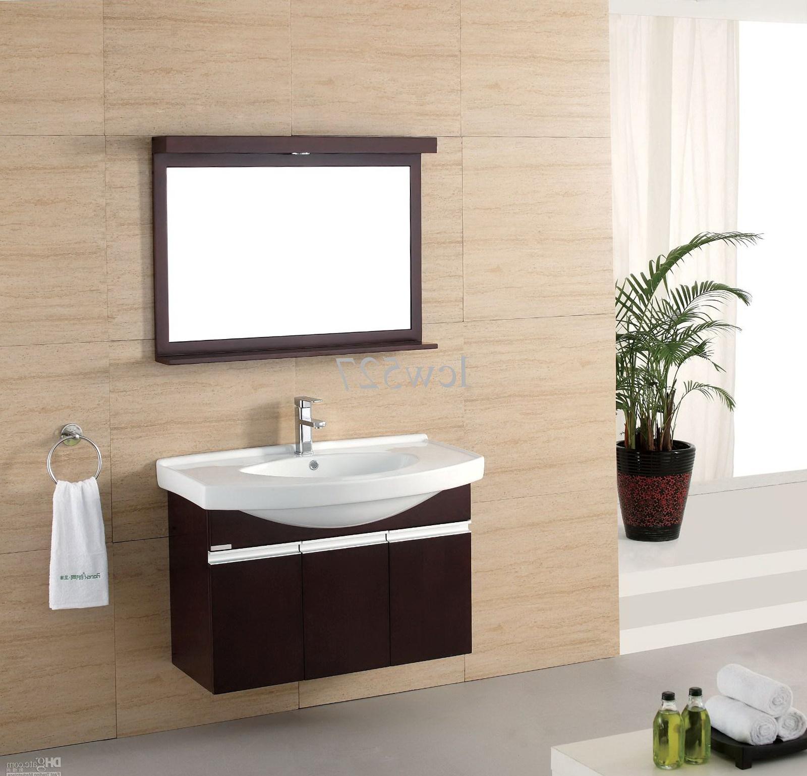 Single Contemporary Bathroom Vanities