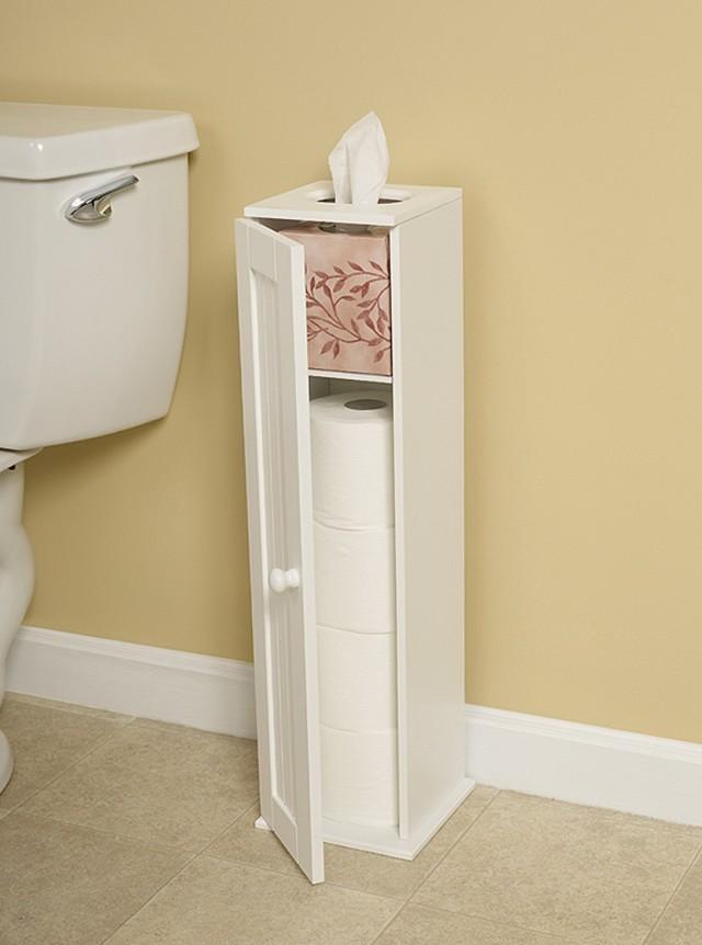 Slim Bathroom Floor Cabinet