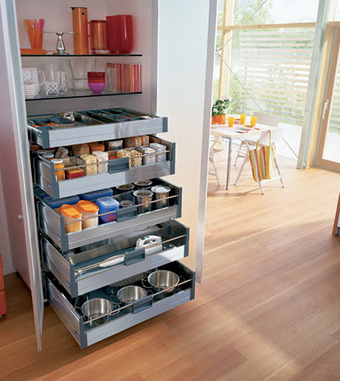 Small Apartment Kitchen Storage Solutions