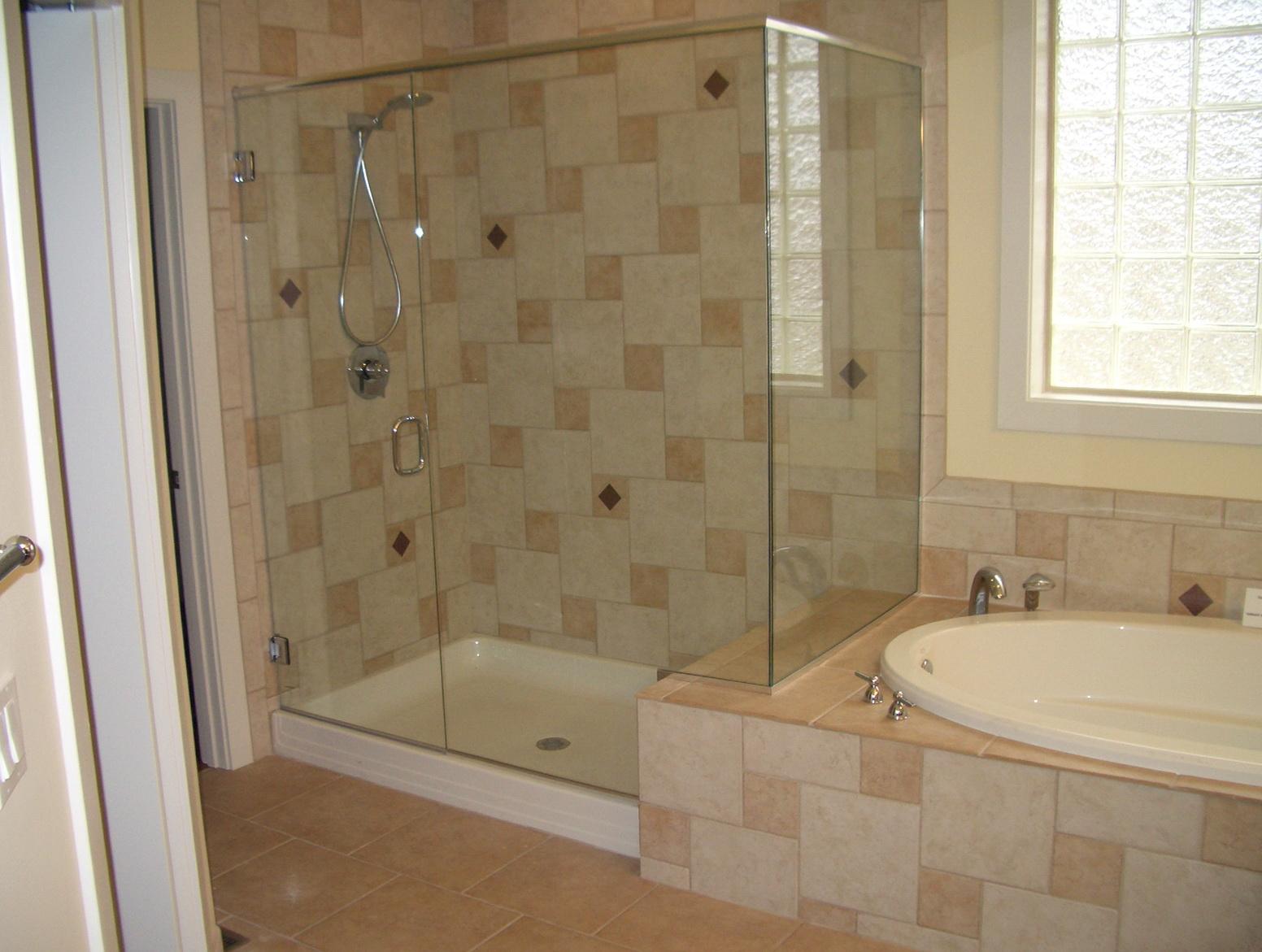 Small Bathroom Remodel Ideas Window In Shower