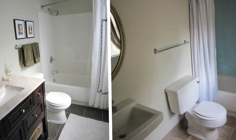 Small Bathroom Remodels Pictures Before And After