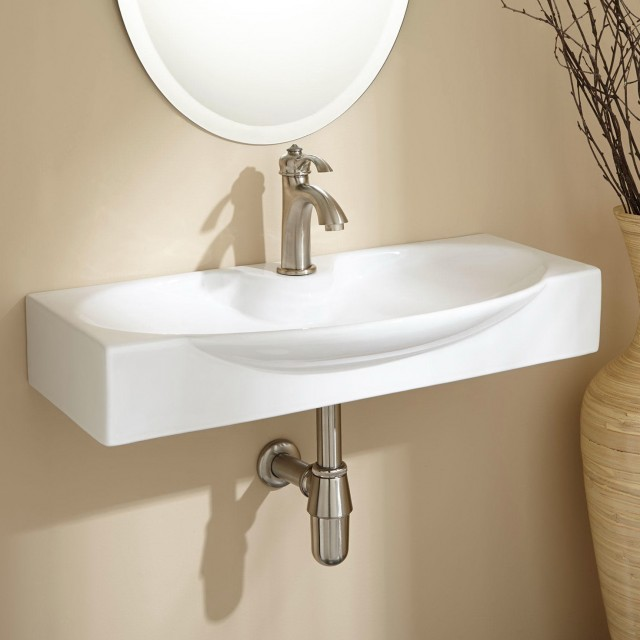 Small Bathroom Sinks Wall Mount