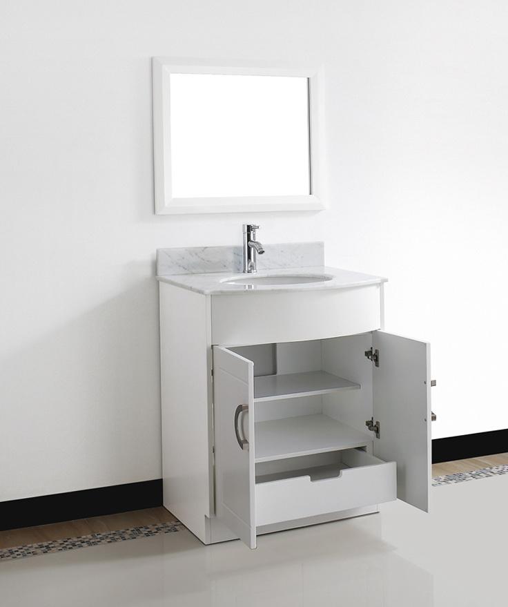 Small Bathroom Vanities White