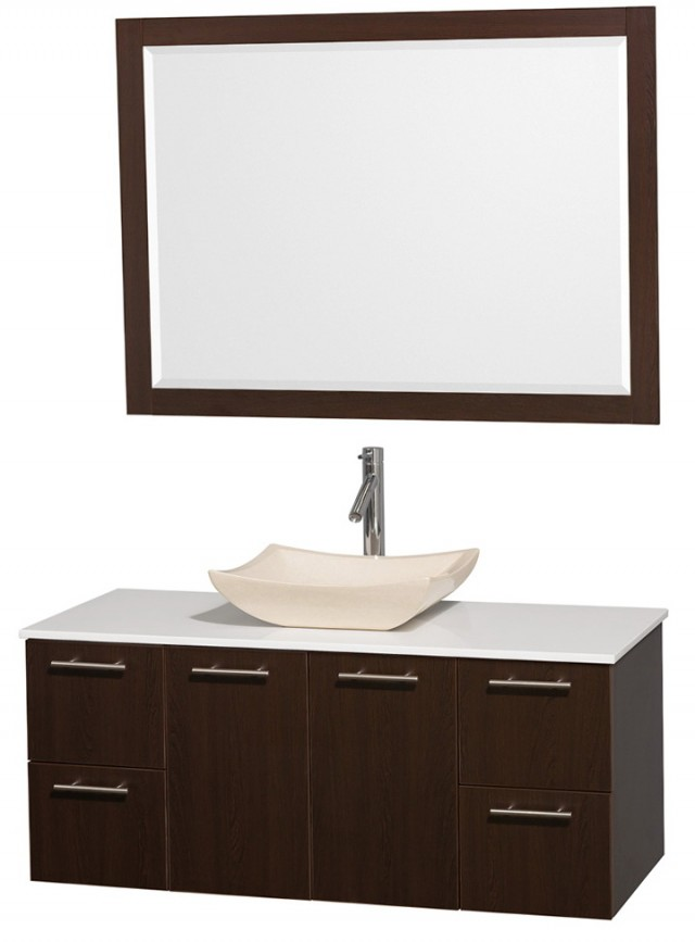 Small Bathroom Vanities With Vessel Sinks