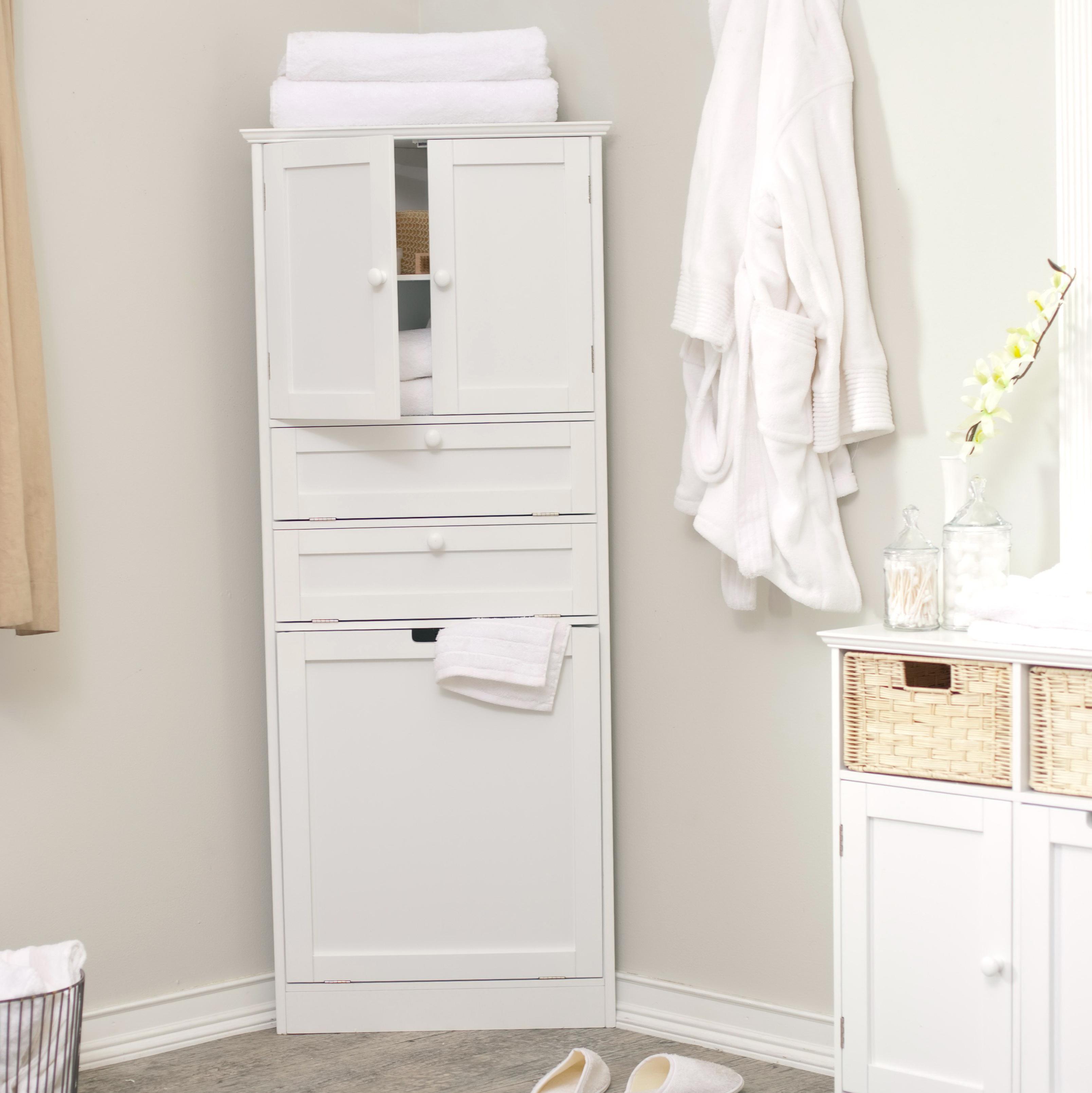 Small Corner Storage Cabinet