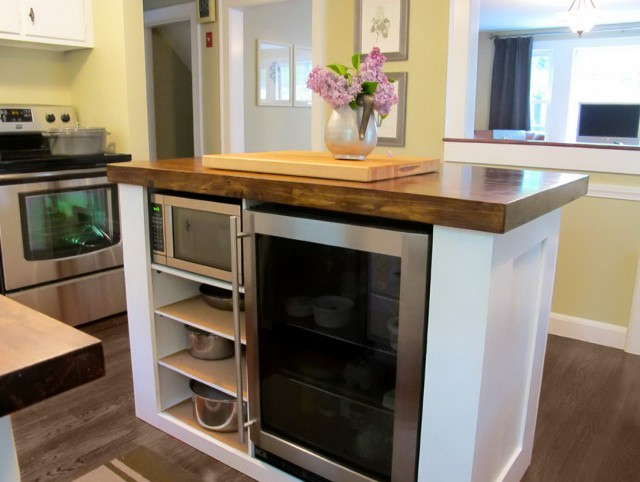 Small Kitchen Designs With Island