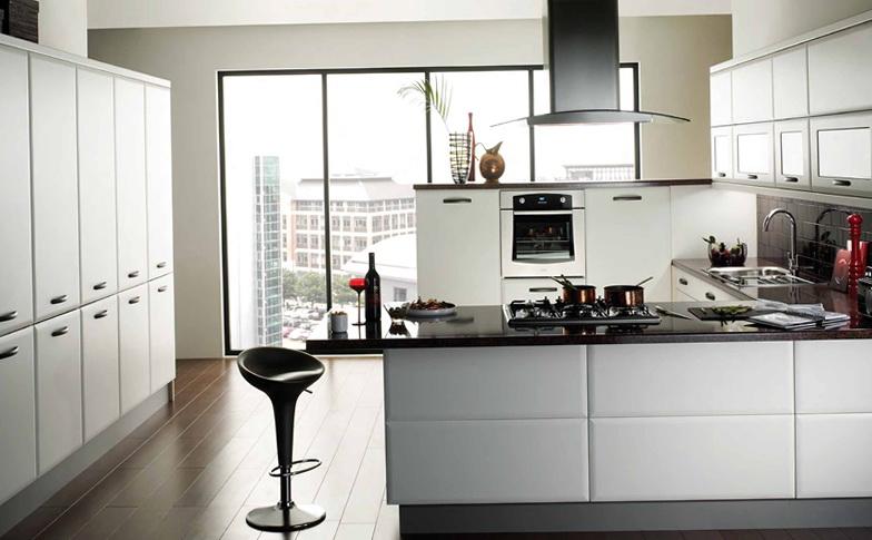 Small Kitchen Ideas Black And White