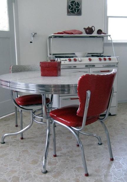Small Retro Kitchen Table