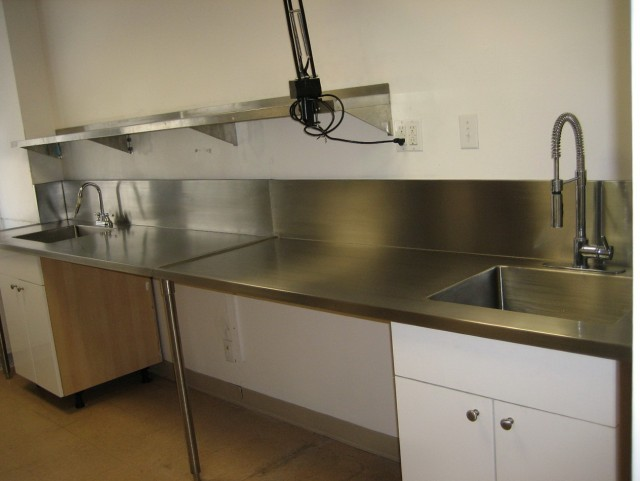 Stainless Steel Kitchen Cabinets Commercial