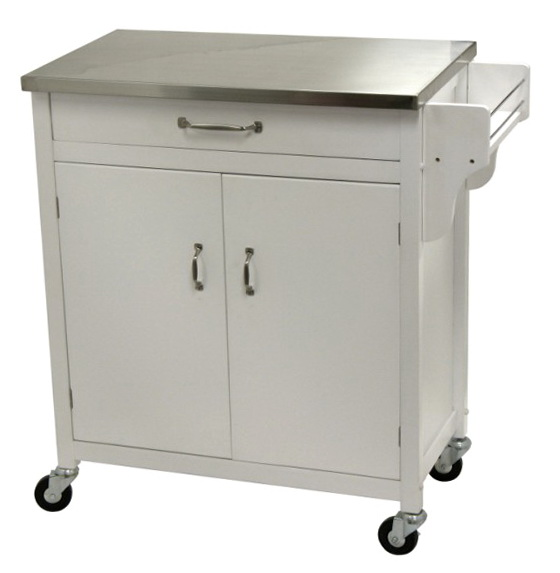 Stainless Steel Kitchen Island With Drawers