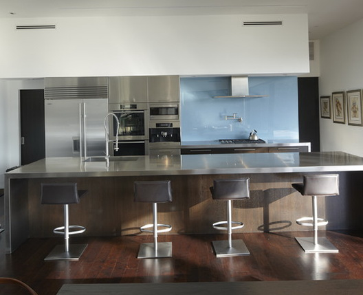 Stainless Steel Kitchen Island With Seating