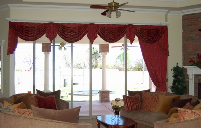 Swag Valances For Living Room