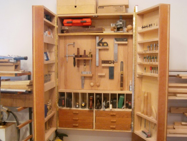 Tool Storage Cabinets Plans